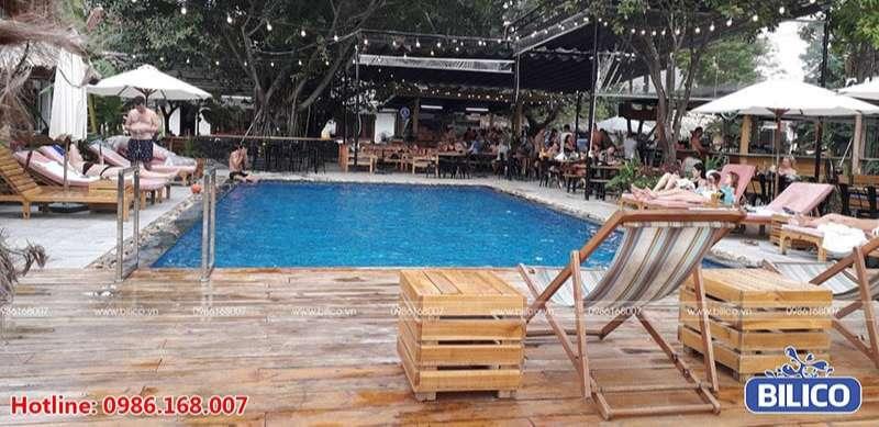 Công trình bể bơi anh Văn, Tam Cốc, Bích Động