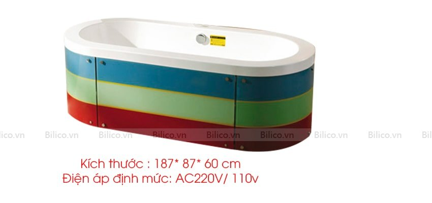 Kích thước bồn sục Monalisa M2022