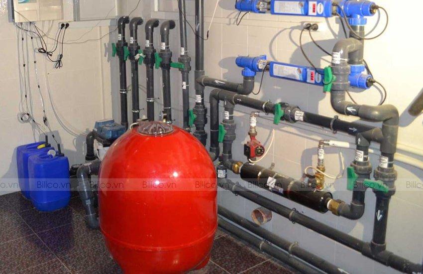 Ứng dụng bình lọc bể bơi Kripsol model BL