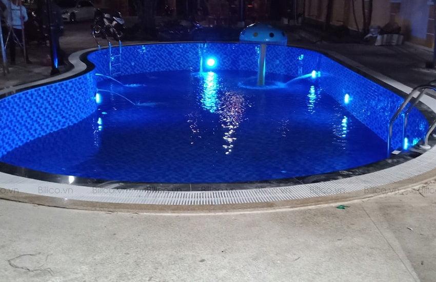 Ứng dụng đèn bể bơi UL S100S