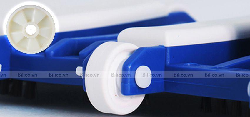 bàn hút vệ sinh SPS có 8 bánh xe di chuyển linh hoạt
