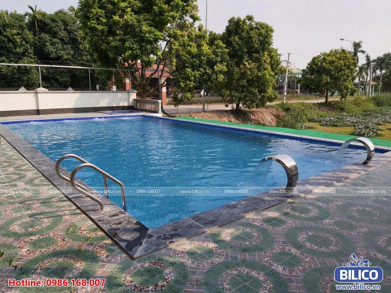 Bể bơi anh Huấn Ninh Bình
