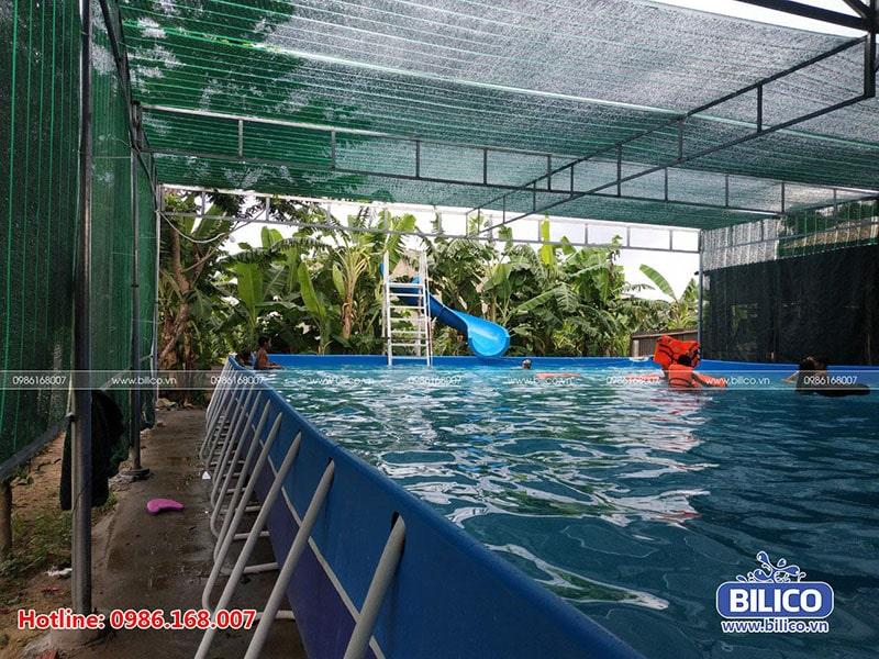 Công trình bể bơi anh Lộc Quảng Nam