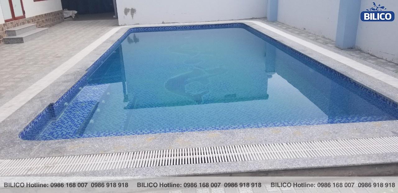 bể bơi gia đình anh Thắng