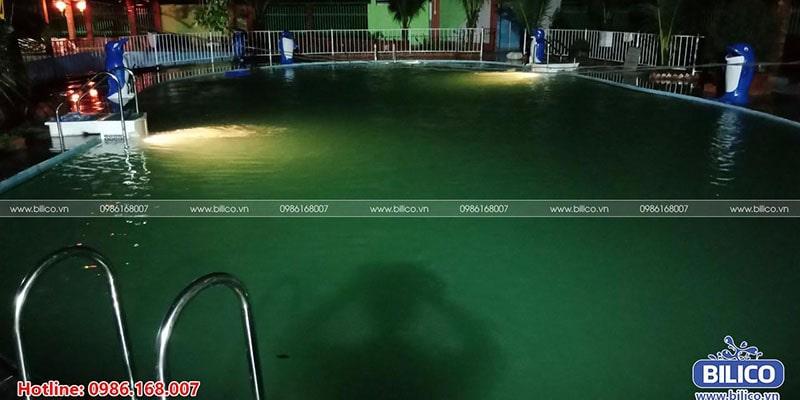 Công trình bể bơi anh Tình vũng tàu