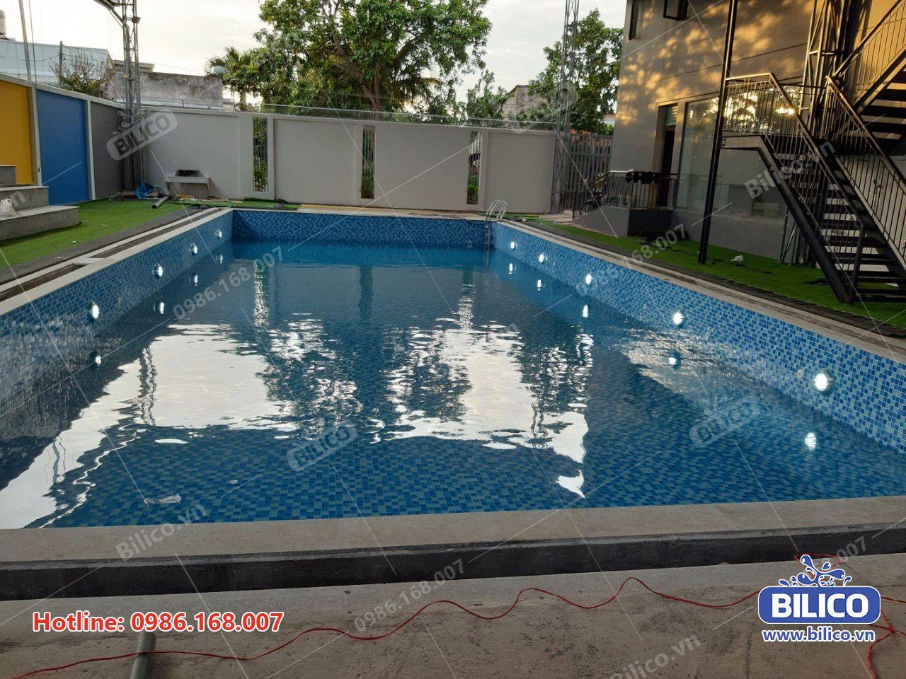 Công trình bể bơi anh Quyên Bình Định