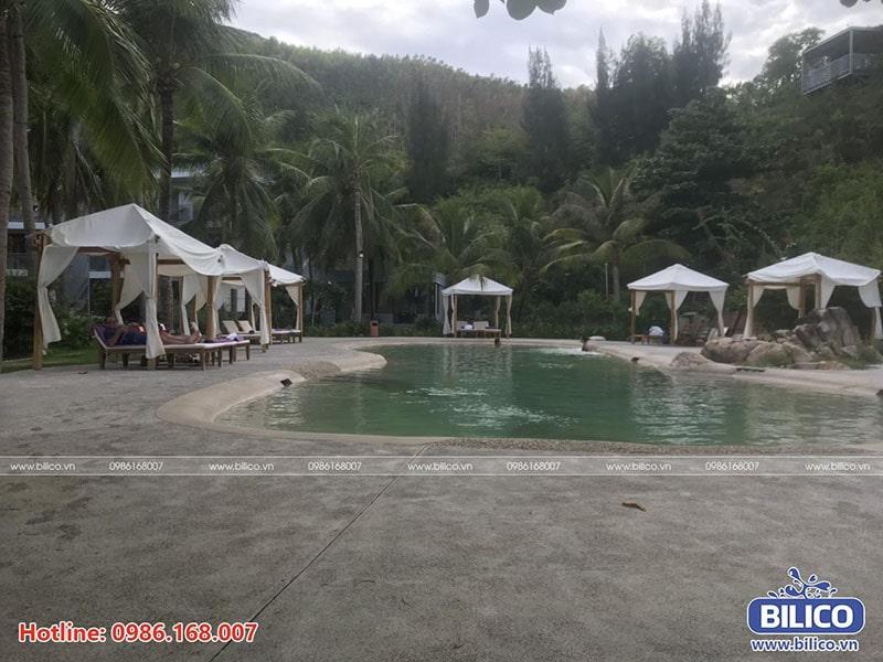 Bilico bàn giao công trình bể bơi Casa Marina resort, Quy Nhơn