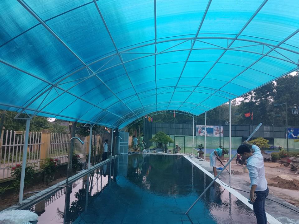 Bể Bơi Cho Công Ty Xây Dựng Việt Hà
