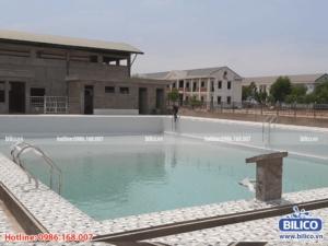 Công trình bể bơi cục tác chiến điện tử do Bilico trực tiếp lắp đặt thiết bị