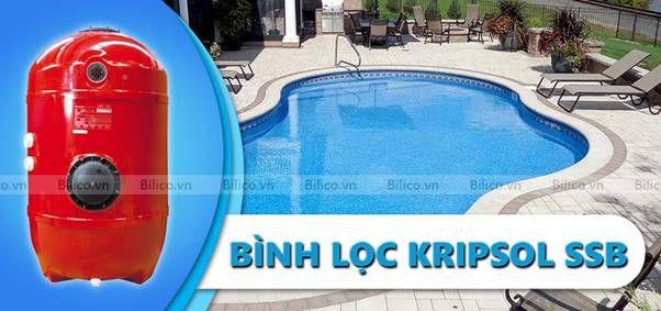 Bình lọc bể bơi Kripsol SSB