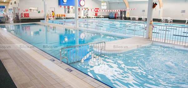 ứng dụng bình lọc bể bơi Procopi RTM CS van ngang