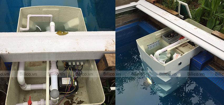 Ứng dụng máy lọc bể bơi thông minh PK - 8026