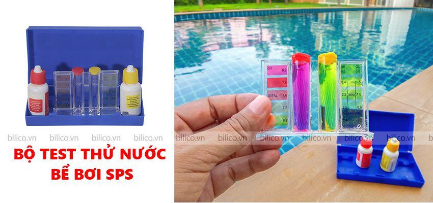 Bộ kit test thử nồng độ hóa chất bể bơi