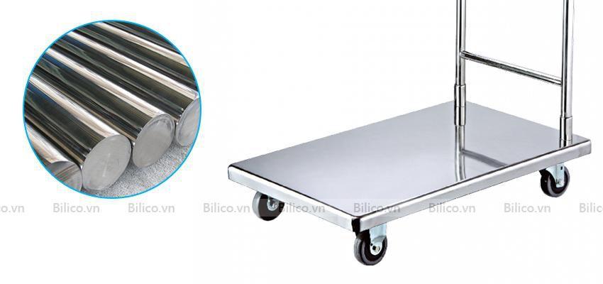Bộ vệ sinh bể bơi di động có xe đẩy di chuyển thuận tiện