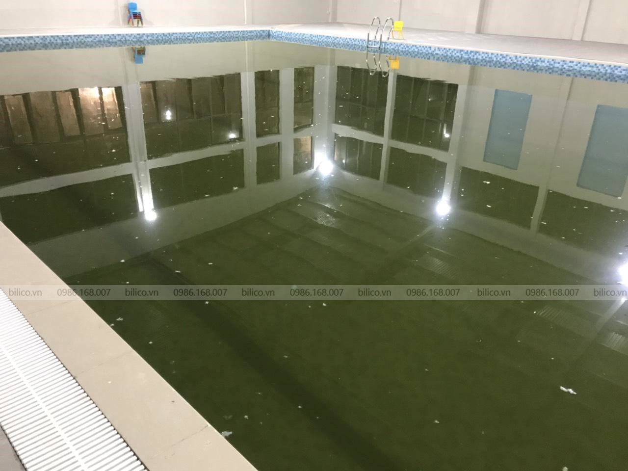 Ứng dụng của đồng bột CuSO4 trong xử lý nước bể bơi