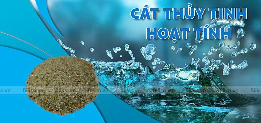 Cát thủy tinh sử dụng trong lọc nước bể bơi
