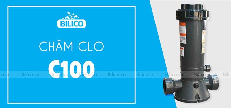 châm clo bán tự động C100