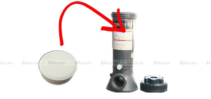 Cách sử dụng bộ châm clo bán tự động C100