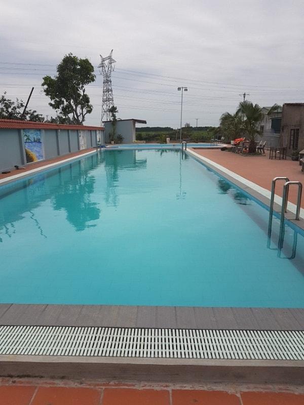 Hệ thống thiết bị bể bơi gia đình anh Dẫn là thiết bị do Bilico nhập khẩu chính hãng và phân phối