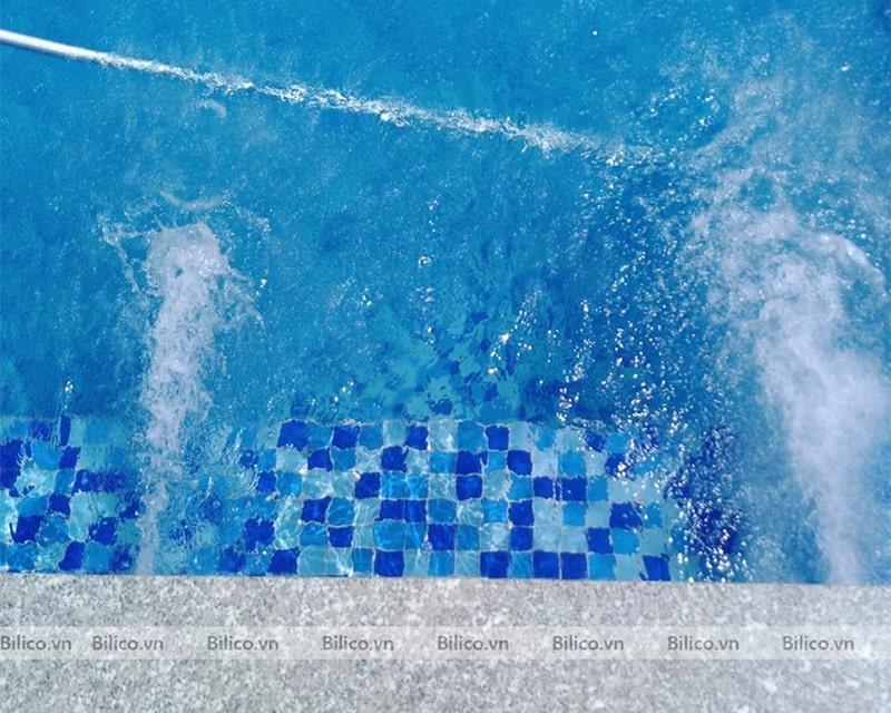 công trình bể bơi nhà anh Nam