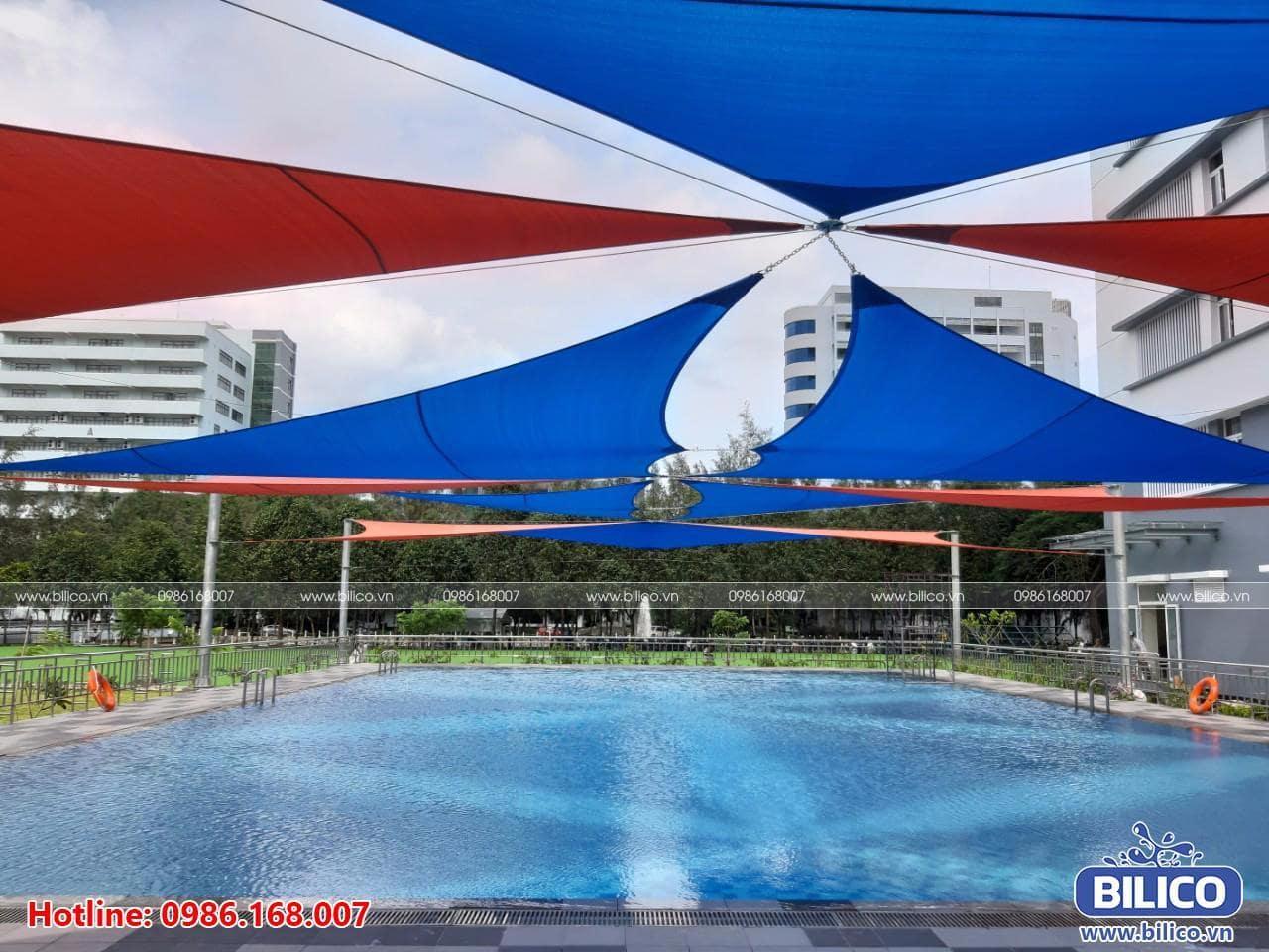 Công trình bể bơi trường Đại học Tôn Đức Thắng