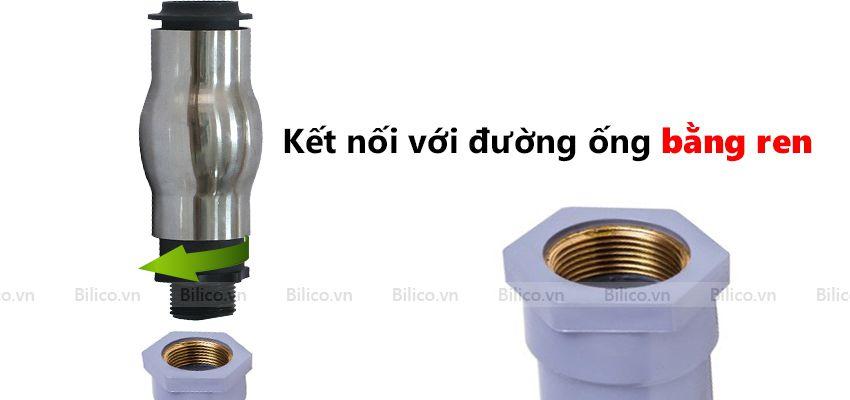 Hướng dẫn lắp đặt đầu phun nước bọt khí dạng cột nước YWC