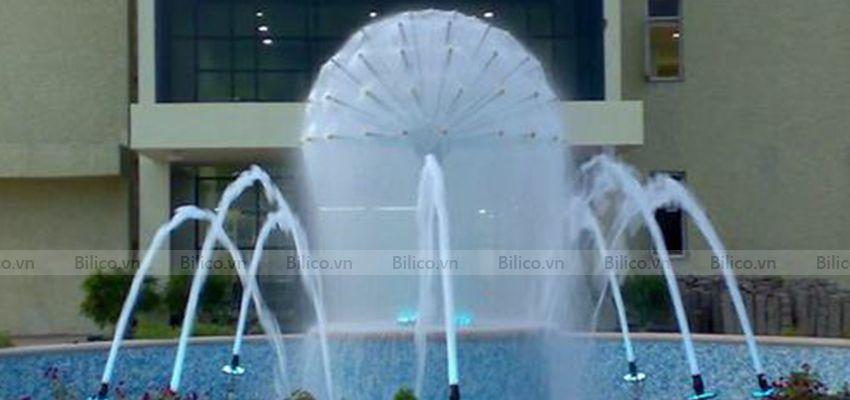 Ứng dụng đầu phun nước hình cầu thủy tinh YDCB