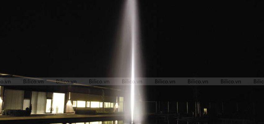 Hình ảnh thực tế đầu phun nước hình trụ cột YCU
