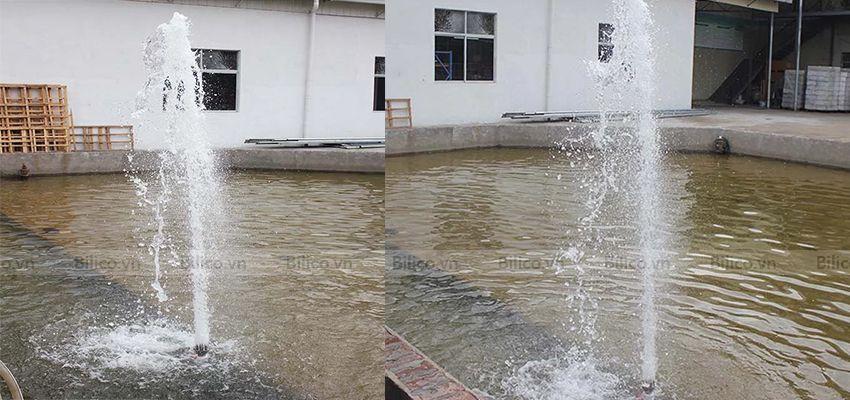 Ứng dụng đầu phun nước hình trụ cột YCU