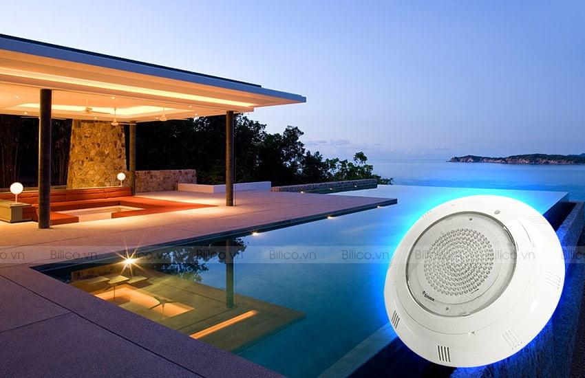 Ứng dụng đèn bể bơi Emaux P100