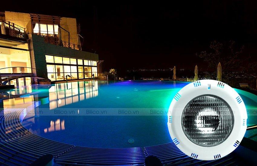 Ứng dụng đèn bể bơi UL - P300C