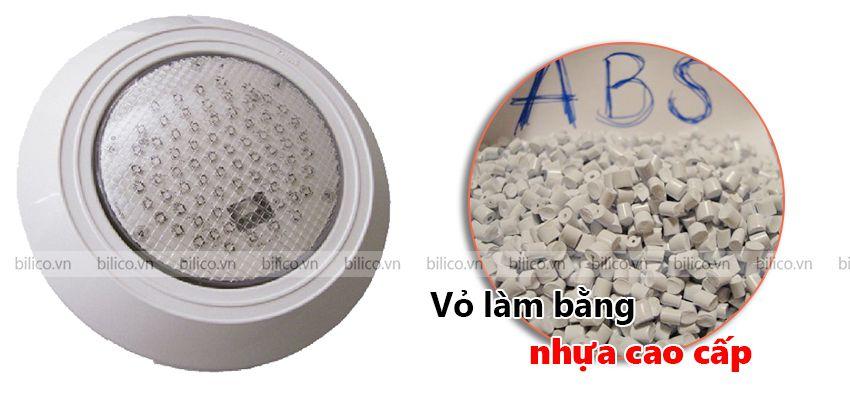 Vỏ đèn bể bơi Halogen Kripsol PEH100 - 300 từ nhựa ABs cao cấp