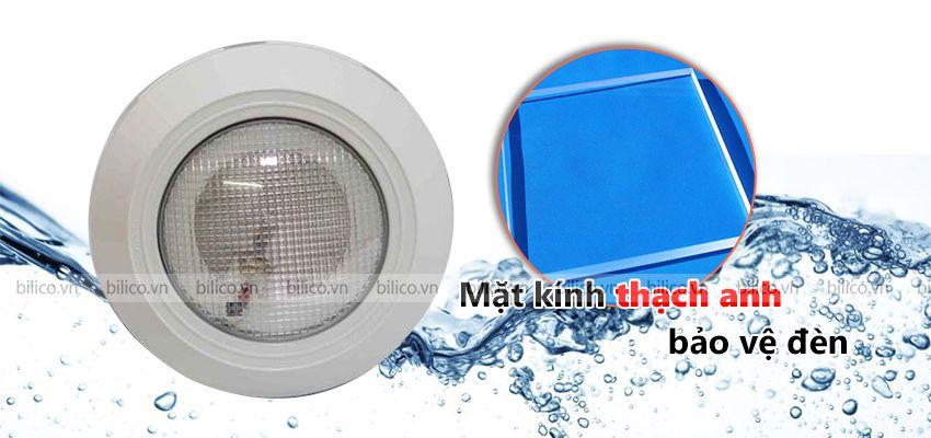 Mặt kính Đèn bể bơi halogen S - 003 bảo vệ đèn