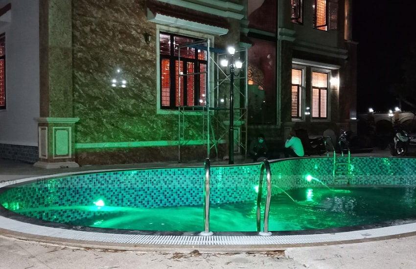 Ứng dụng đèn led bể bơi TF12-12M