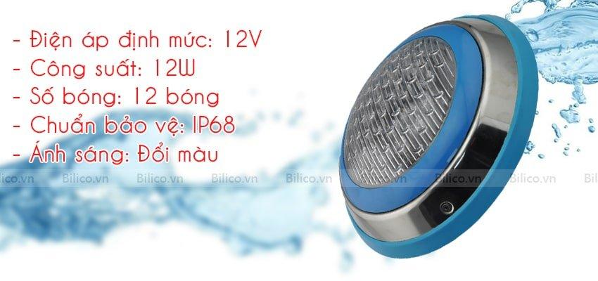 Mô tả đèn led bể bơi TF12-12M