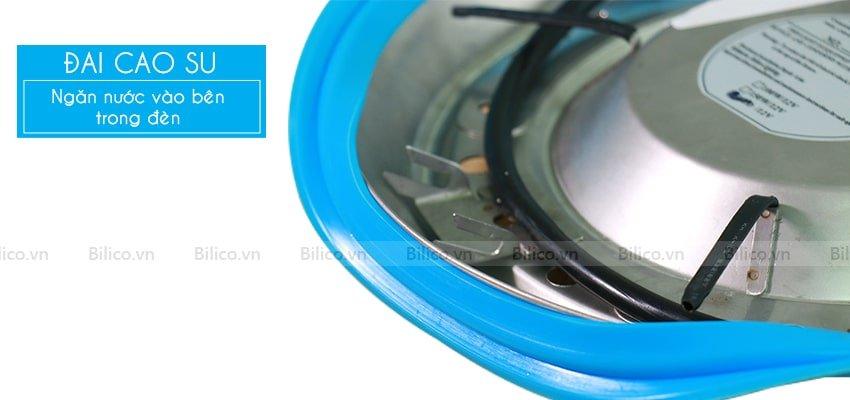 Đèn LED vàng trang trí bể bơi TF12 - 12Y có đai cao su ngăn nước