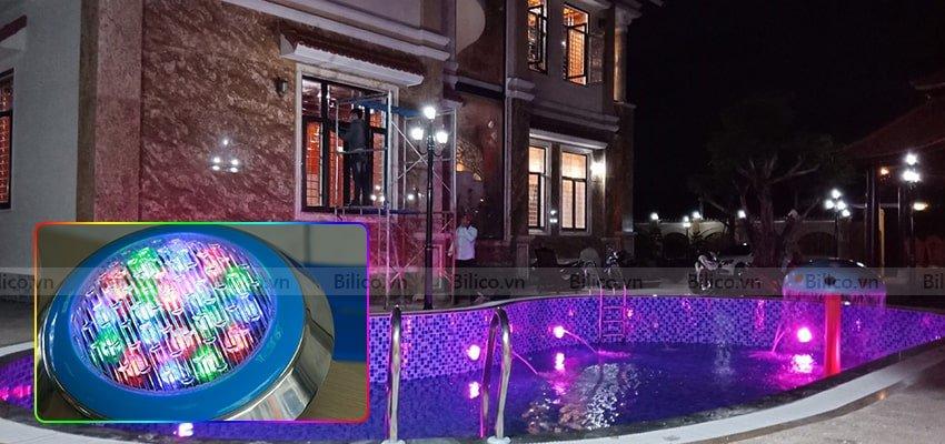 Hình ảnh đèn led trang trí bể bơi TF12-18M