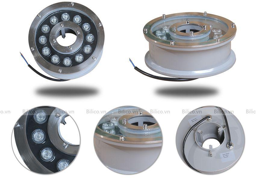 Cấu tạo các bộ phận đèn đài phun TFH