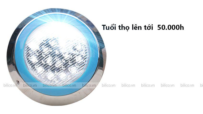 Tuổi thọ đèn bể bơi TF - MCLED tới 50000 giờ