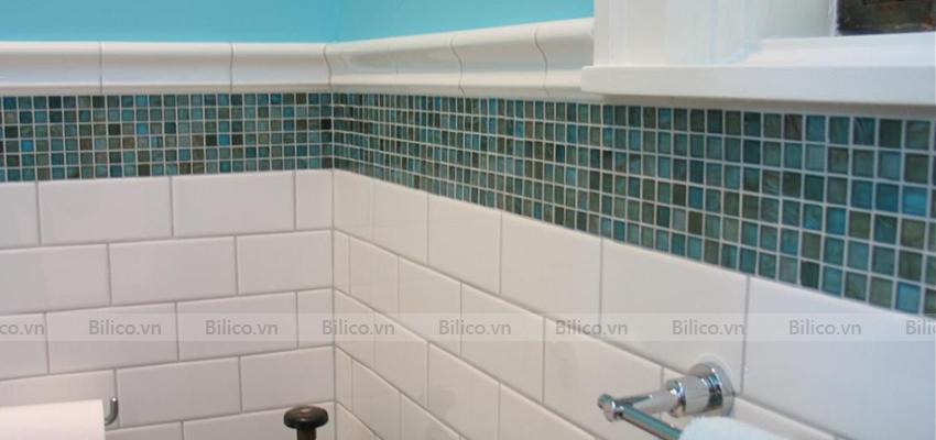 gạch mosaic E709 ốp phòng tắm