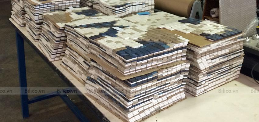 Quy trình sản xuất gạch Mosaic E705
