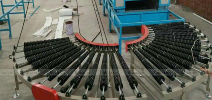 Máy sản xuất gạch mosaic E736