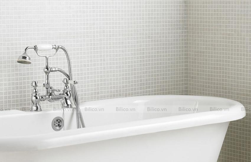 Ứng dụng gạch mosaic F130 ốp nhà tắm
