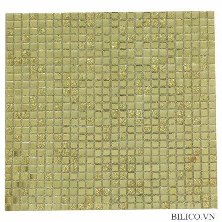 gạch mosaic màu vàng