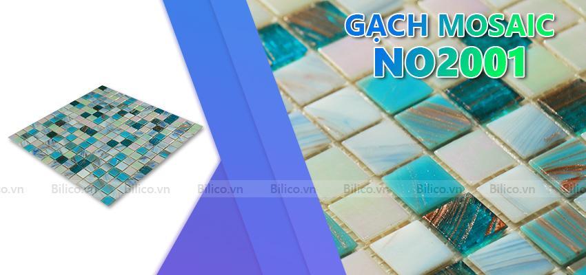 gạch mosaic NO2001