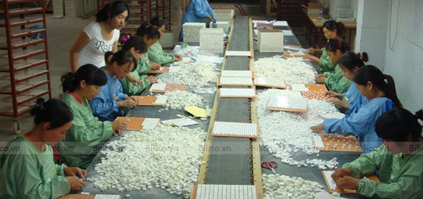 Sản xuất gạch mosaic NO2001