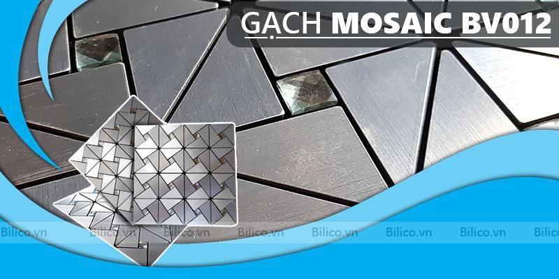 gạch mosaic hợp kim nhôm BV012