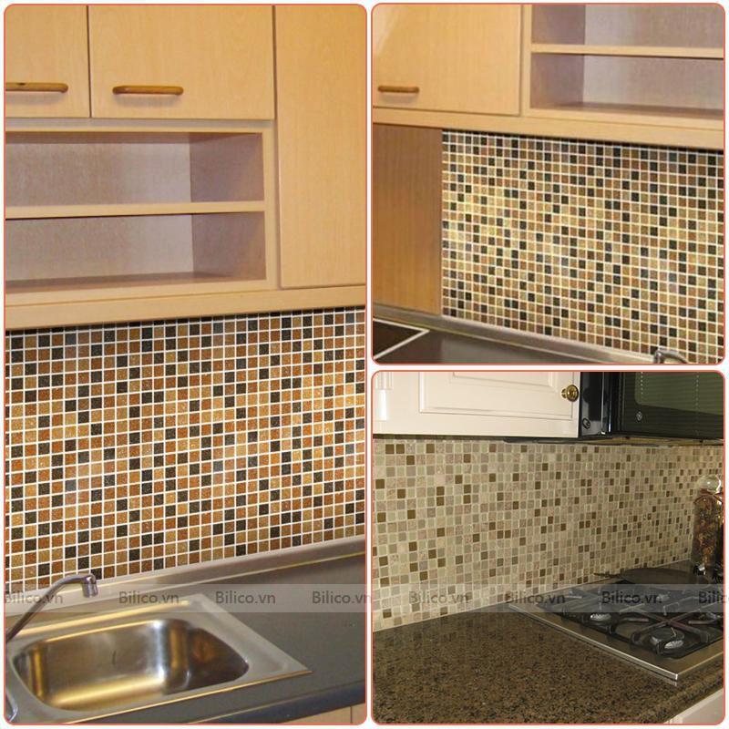 Ứng dụng gạch mosaic BV014 ốp lát nội thất