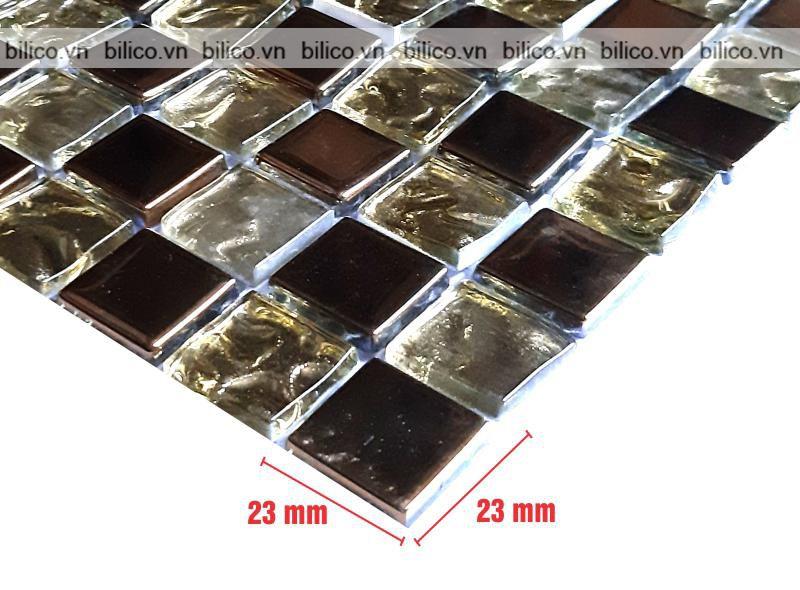 Kích thước viên gạch mosaic BV020