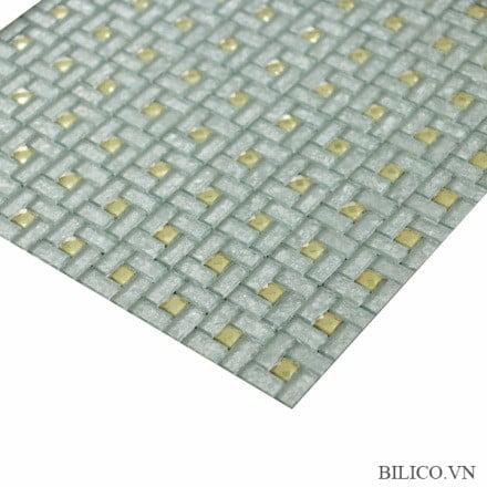 Đặc điểm gạch mosaic vàng trắng